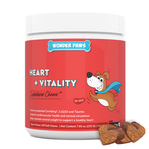 wonder paws cardio support for dogs
