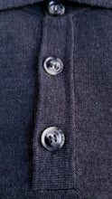 Load image into Gallery viewer, Grey Merino Polo