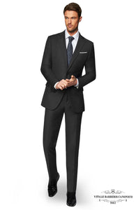 Vitale Barberis- The Grey Prince of Wales Suit
