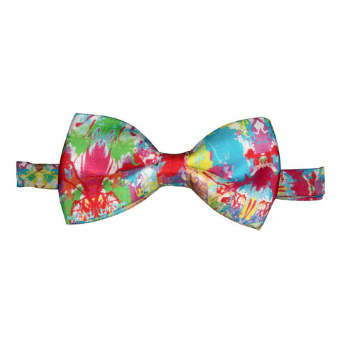 Silk Bow Tie Paint Splash