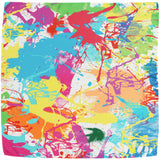 Paint Splash Silk Pocket Square