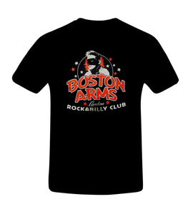 Camiseta Boston Arms London Rockabilly Club