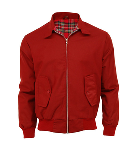 Chaqueta Harrington Roja