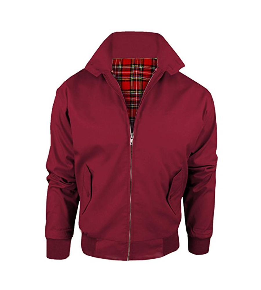 Chaqueta Harrington Granate