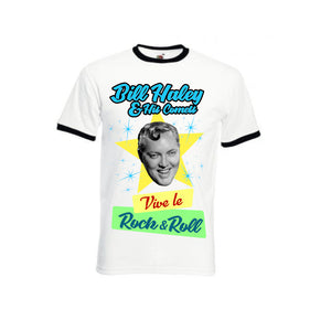 Camiseta  Bill Haley Vive le Rock & Roll