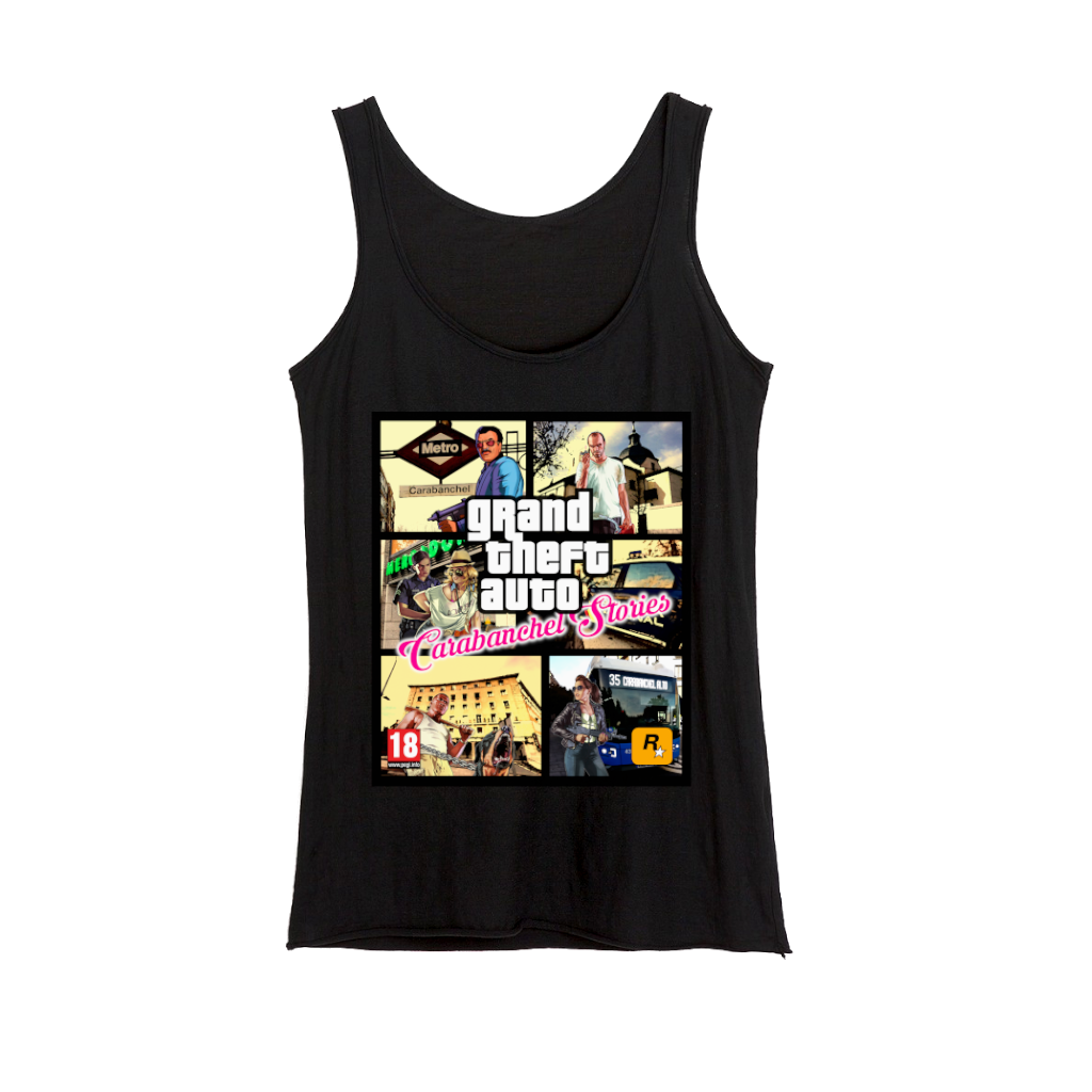 Camiseta GTA Carabanchel Stories