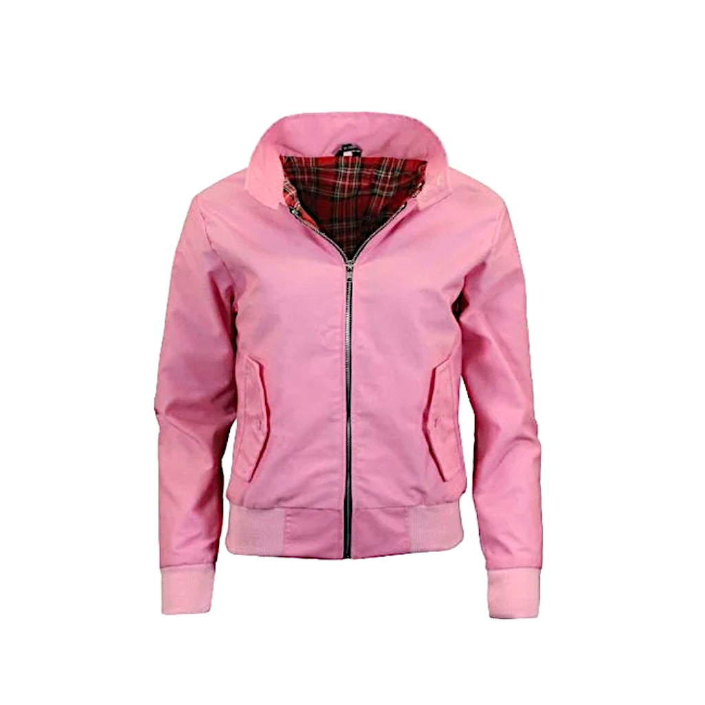 Chaqueta Harrington Rosa