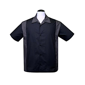 Bolera Poly Cotton Garage Shirt in Charcoal