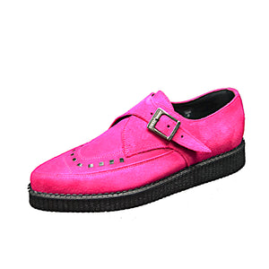 Pointed Creepers Fuxia Suede