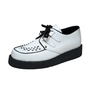 Creepers Single Sole White Leather