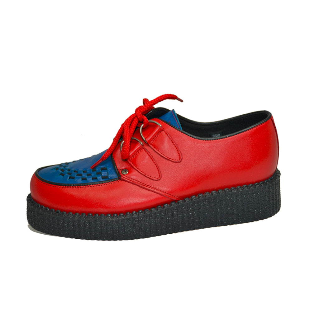 Creepers Red Box and Blue Box Leather