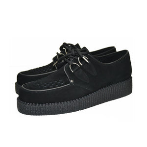 Creepers Black Suede Leather