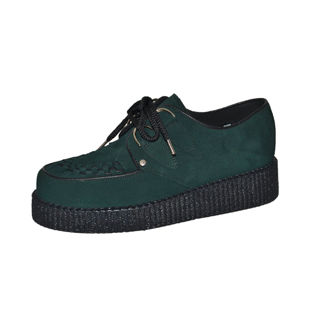 Creepers Dark Green Suede