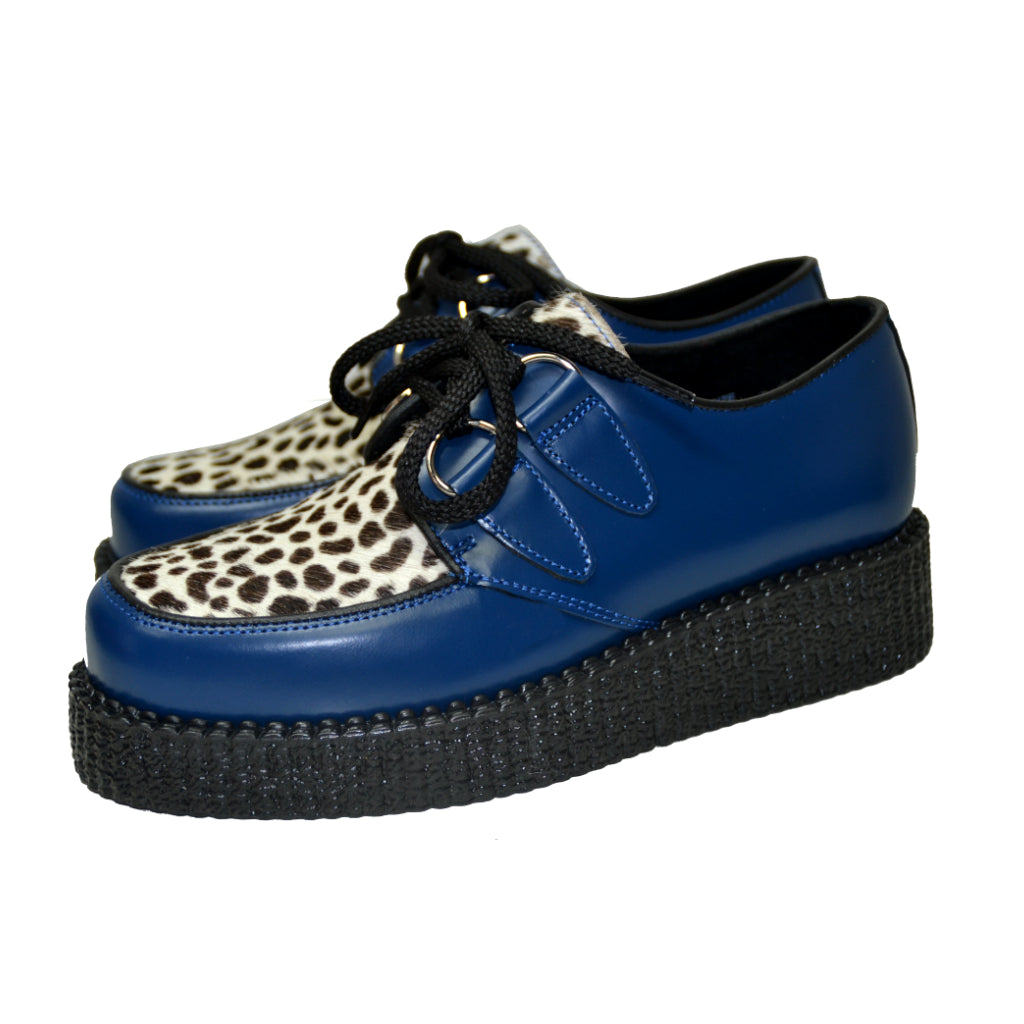 Creepers Blue Box and White Leopard