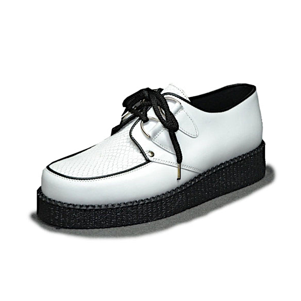 Creepers White Box and White Snake Embossment