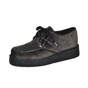 Creepers Grey Velvet