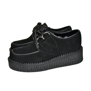Creepers Black Suede Linning