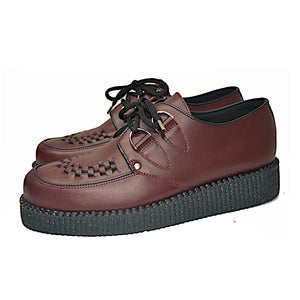 Creepers Burgundy Grain Leather