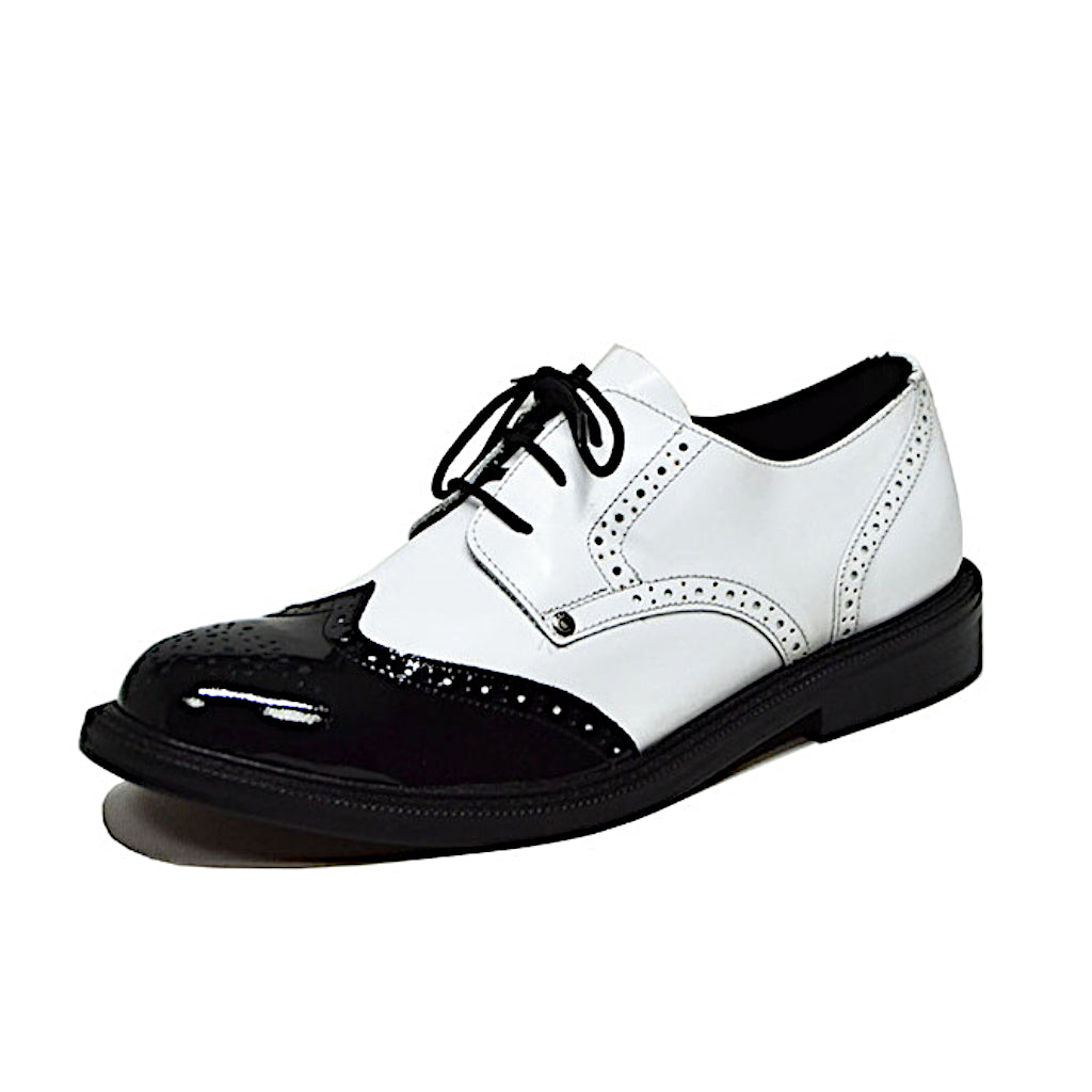 Rambla Shoe White and Black