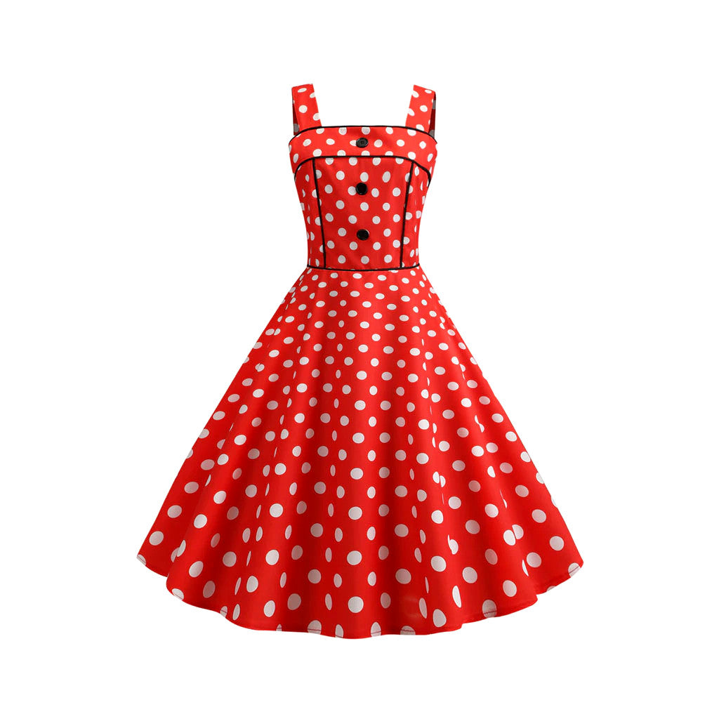 Vestido Swing Red