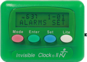 Green Invisible Clock II