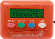 Load image into Gallery viewer, Orange Invisible Clock II