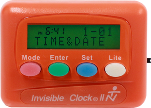 Orange Invisible Clock II