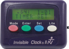 Load image into Gallery viewer, Purple Invisible Clock II
