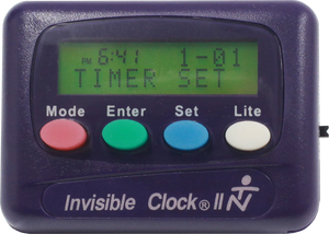 Purple Invisible Clock II