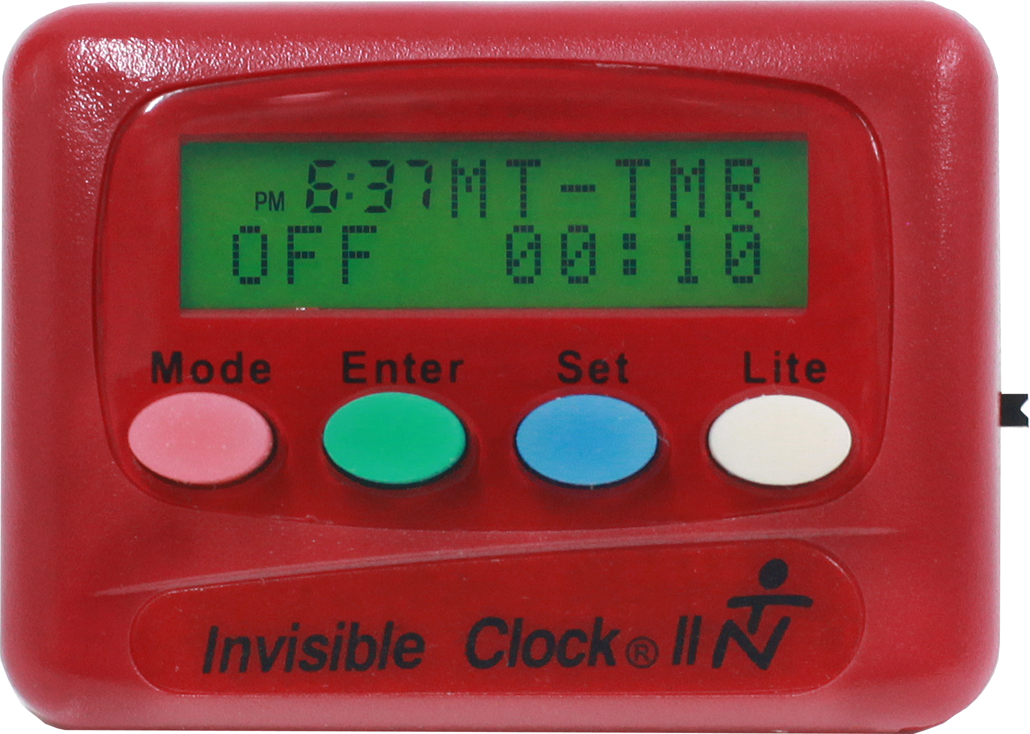 Invisible Clock Ll Is A Multi Function Personal Timer And Alarm How To Build Repeating Interval Load Image Into Gallery Viewer Red Ii