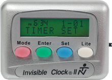 Load image into Gallery viewer, Silver Invisible Clock II