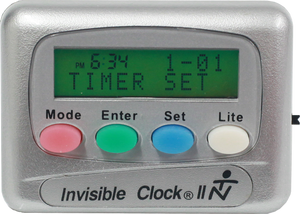 Silver Invisible Clock II