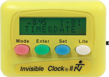 Load image into Gallery viewer, Yellow Invisible Clock II
