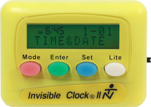 Yellow Invisible Clock II