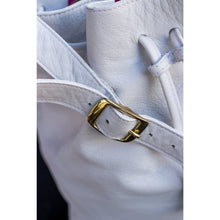 Load image into Gallery viewer, JOYCE BUCKET BAG WHITE - Linell Ellis