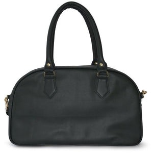 CANDI SATCHEL HUNTER GREEN - Linell Ellis