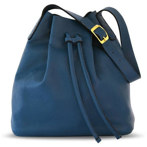 JOYCE BUCKET BAG BLUE - Linell Ellis