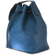 Load image into Gallery viewer, JOYCE BUCKET BAG BLUE - Linell Ellis