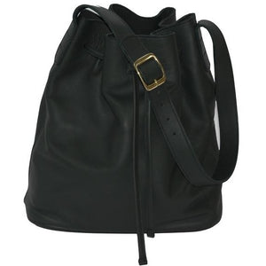 JOYCE BUCKET BAG - HUNTER GREEN - Linell Ellis