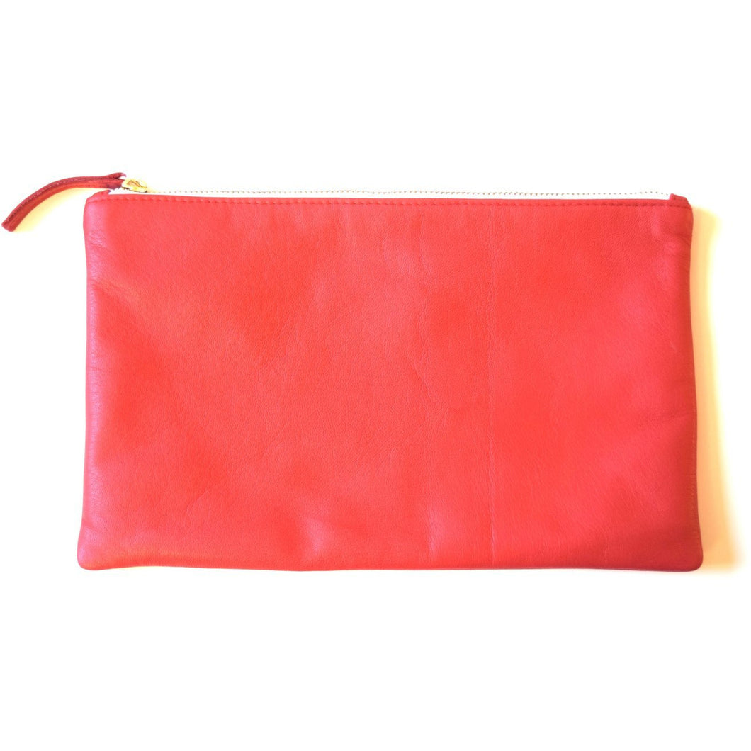 NIKKI CLUTCH RED - Linell Ellis