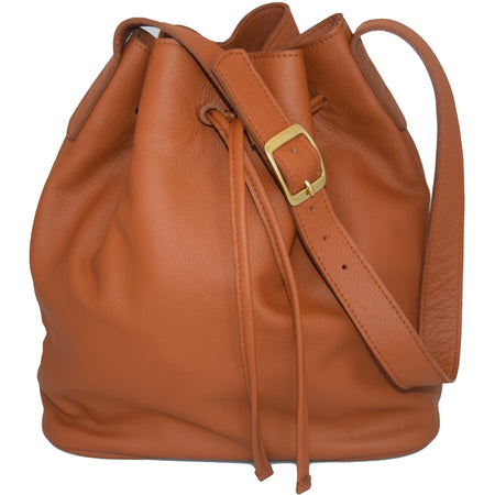 JOYCE BUCKET BAG - SUEDE