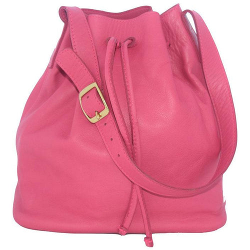 JOYCE BUCKET BAG HOT PINK