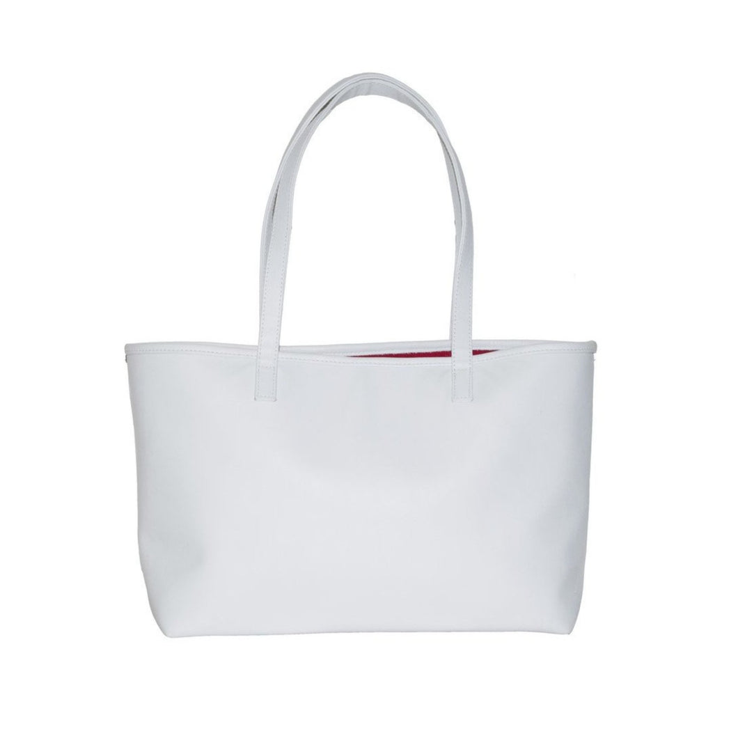 THERESA TOTE WHITE - Linell Ellis