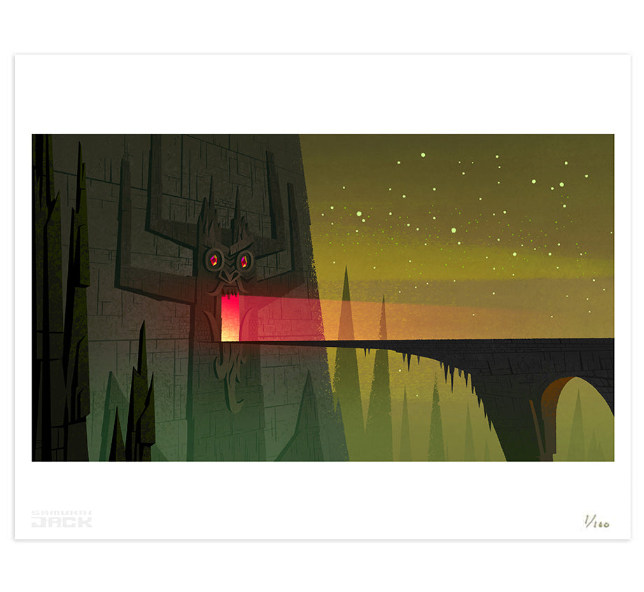 Samurai Jack: Backgrounds - Unspeakable Evil