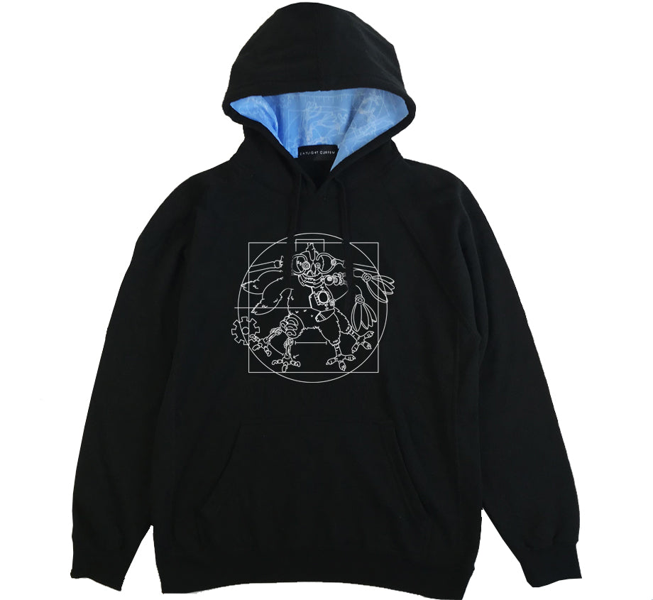 Robot Chicken x Daylight Curfew: Blueprint Hoodie (100 available)