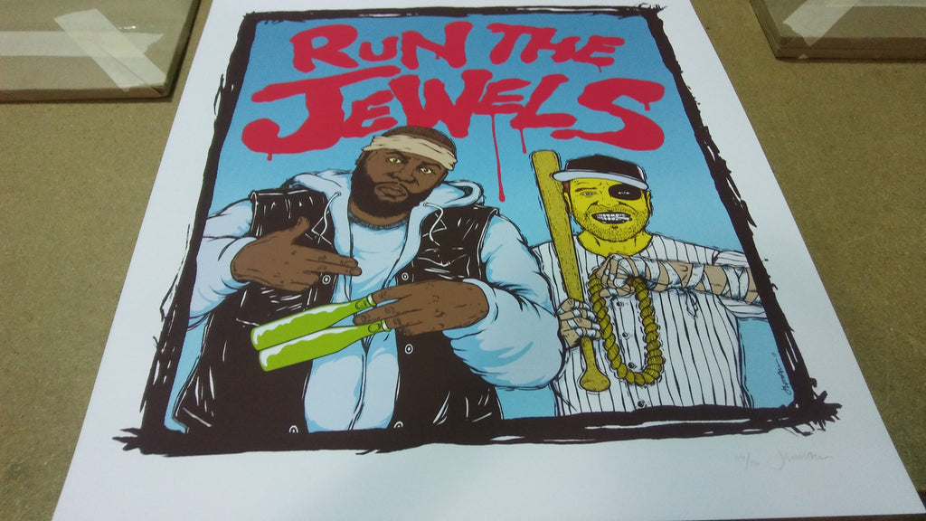 Run The Jewels - Warriors Print (Edition of 150)