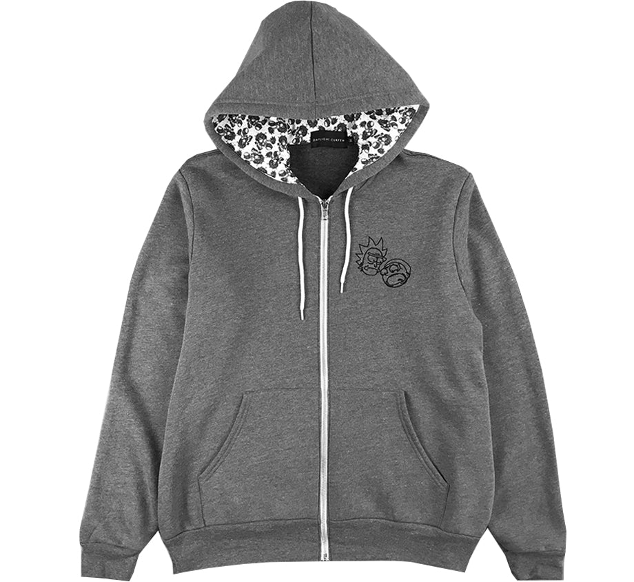 Floral Hoodie (Edition of 50 - Woven Numbered)