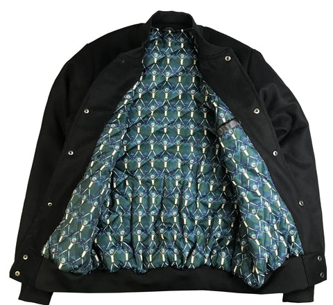 Evil Morty Fall Varsity Jacket