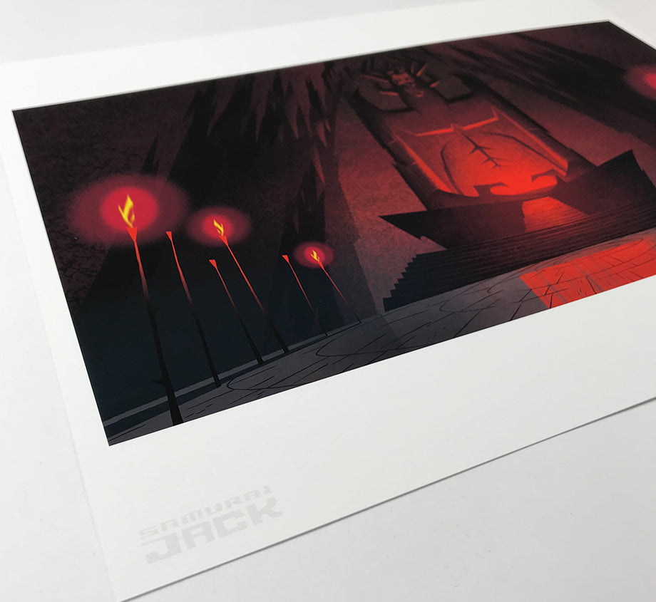 Backgrounds: Samurai Jack - The Cult Of Aku