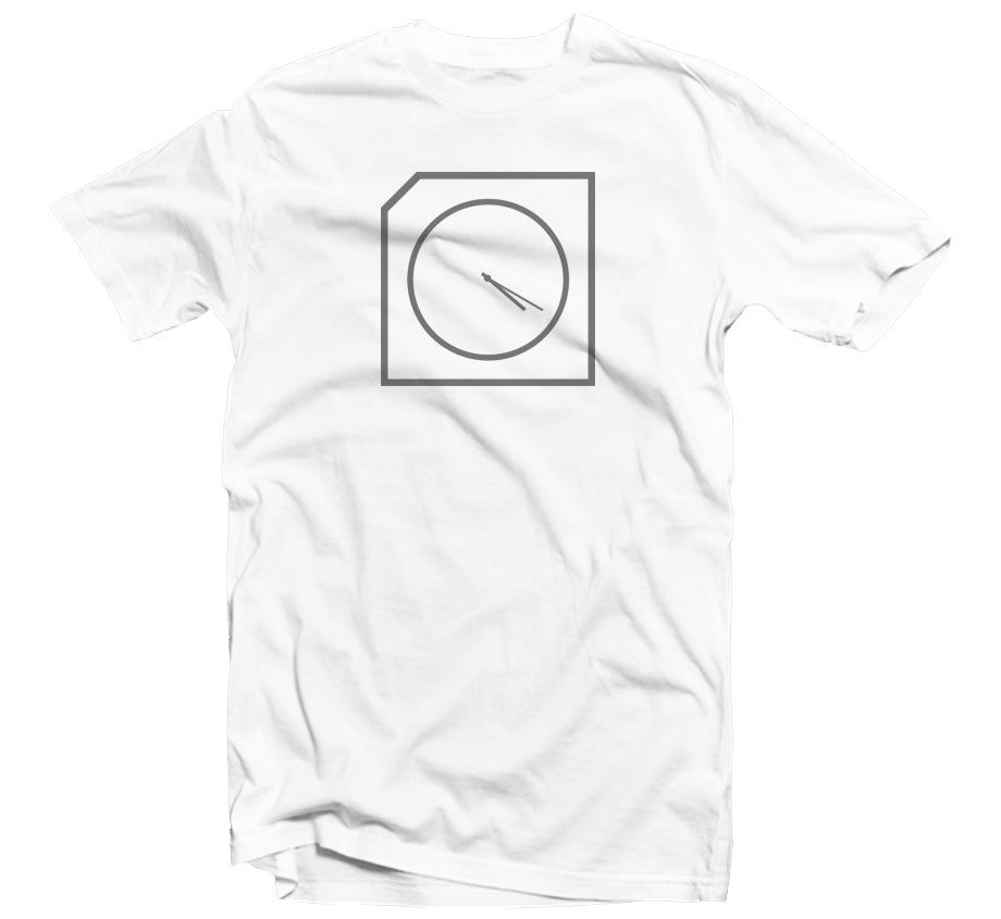 420 Clock T-shirt (White)